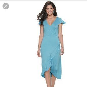 Juicy Couture Faux Wrap Dress Size L